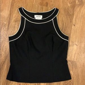 Black and white top size 9